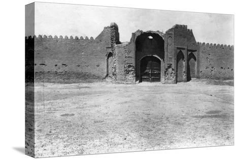 City Gate, Samarra, Mesopotamia, 1918--Stretched Canvas Print