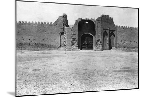 City Gate, Samarra, Mesopotamia, 1918--Mounted Giclee Print