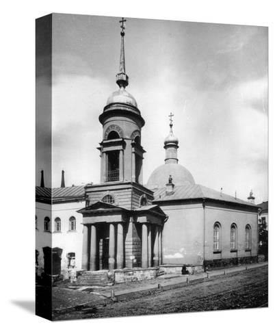 Church of St Nicholas the Miracle Maker, Gnezdniki, Near Tverskaya Street, Moscow, Russia, 1881- Scherer Nabholz & Co-Stretched Canvas Print