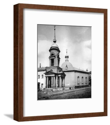 Church of St Nicholas the Miracle Maker, Gnezdniki, Near Tverskaya Street, Moscow, Russia, 1881- Scherer Nabholz & Co-Framed Art Print