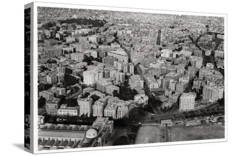 Aerial View of New Cairo, Egypt, from a Zeppelin, 1931--Stretched Canvas Print