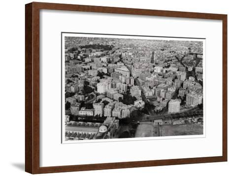 Aerial View of New Cairo, Egypt, from a Zeppelin, 1931--Framed Art Print