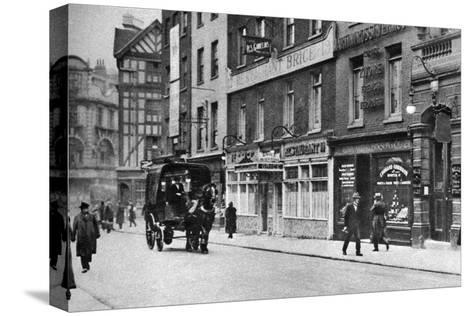 Old Compton Street, Soho, London, 1926-1927--Stretched Canvas Print