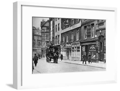 Old Compton Street, Soho, London, 1926-1927--Framed Art Print