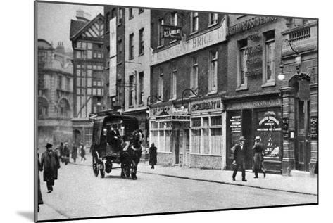 Old Compton Street, Soho, London, 1926-1927--Mounted Giclee Print