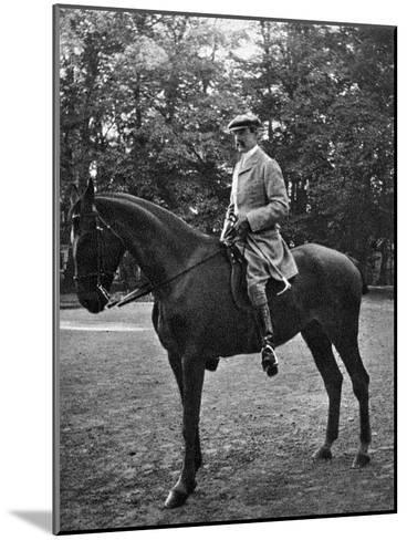 Colonel Brocklehurst at Bernsdorff, 1908--Mounted Giclee Print