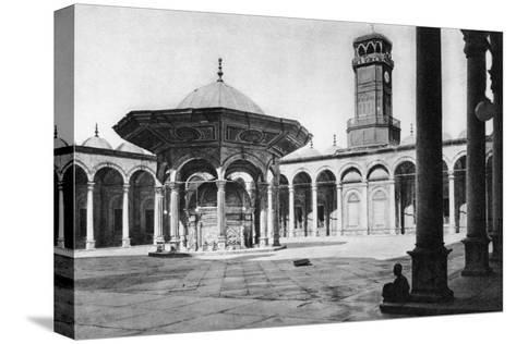 The Courtyard of the Mosque of Muhammad Ali at the Saladin Citadel, Cairo, Egypt, C1920s--Stretched Canvas Print