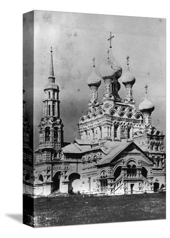The Church of the Holy Trinity, Ostankino, Moscow, Russia, 1900s--Stretched Canvas Print