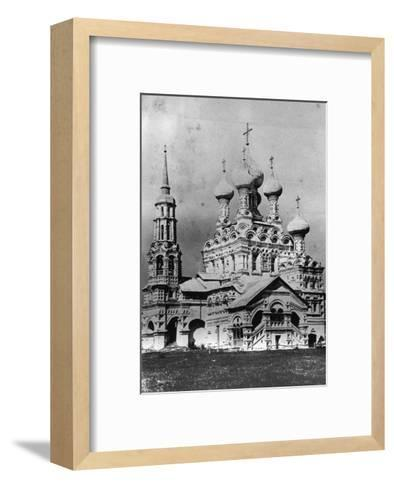 The Church of the Holy Trinity, Ostankino, Moscow, Russia, 1900s--Framed Art Print
