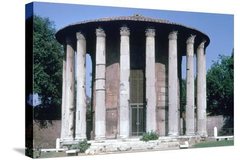 Temple of Vesta, Rome--Stretched Canvas Print