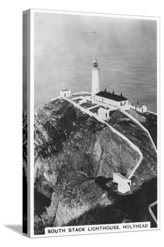South Stack Lighthouse, Holyhead, Wales, 1937--Stretched Canvas Print