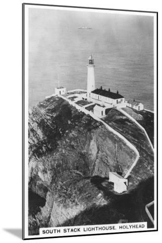 South Stack Lighthouse, Holyhead, Wales, 1937--Mounted Giclee Print