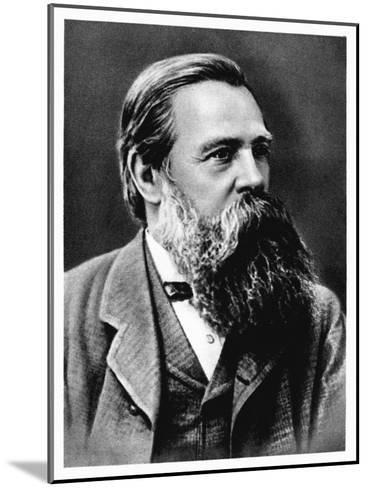 Friedrich Engels, German Socialist and Collaborator and Supporter of Karl Marx, 1879--Mounted Giclee Print