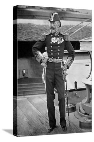 Admiral Sir Michael Culme-Seymour, 1896-Gregory & Co-Stretched Canvas Print
