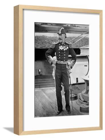 Admiral Sir Michael Culme-Seymour, 1896-Gregory & Co-Framed Art Print