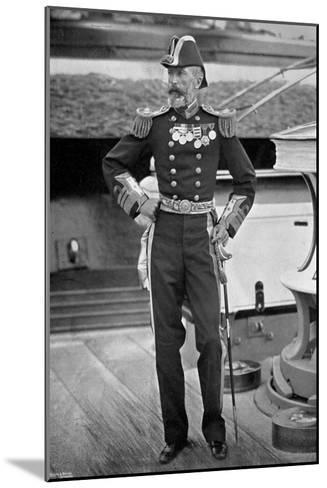 Admiral Sir Michael Culme-Seymour, 1896-Gregory & Co-Mounted Giclee Print