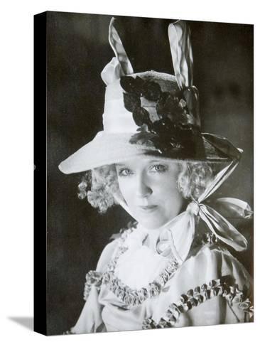 Mariya Babanova, Russian Actress, 1923--Stretched Canvas Print