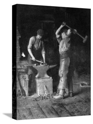 The Smithy, 1911-1912--Stretched Canvas Print