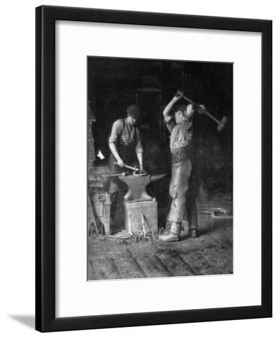 The Smithy, 1911-1912--Framed Art Print