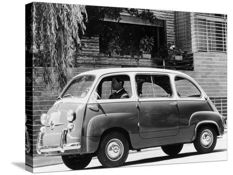 1963 Fiat 600 Multipla, (C1963)--Stretched Canvas Print