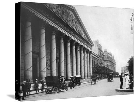 Metropolitan Cathedral, Buenos Aires, Argentina--Stretched Canvas Print