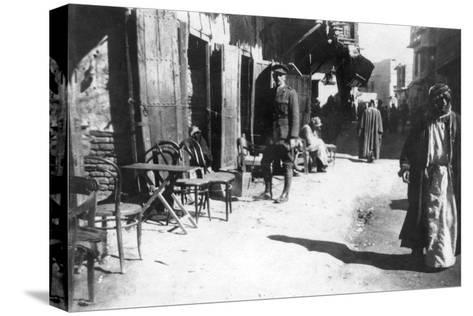 Baghdad Bazaar, 1918--Stretched Canvas Print