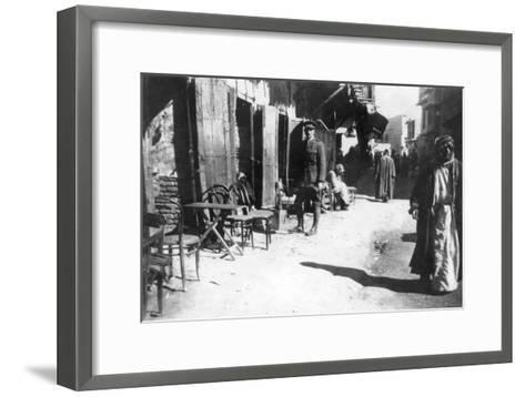 Baghdad Bazaar, 1918--Framed Art Print