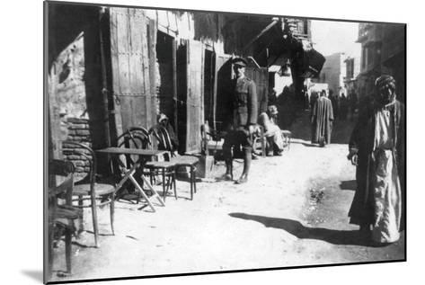 Baghdad Bazaar, 1918--Mounted Giclee Print