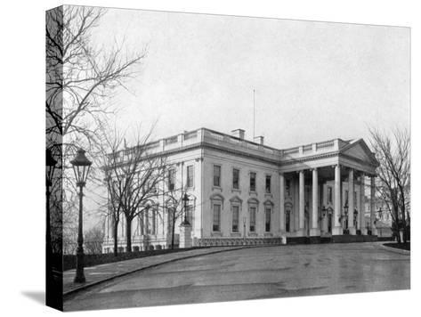 The North Portico of the White House, Washington D.C., USA, 1908--Stretched Canvas Print