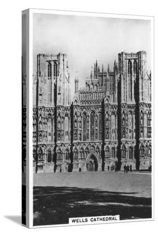 Wells Cathedral, Wells, Somerset, England, 1936--Stretched Canvas Print