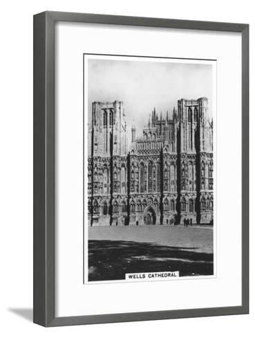 Wells Cathedral, Wells, Somerset, England, 1936--Framed Art Print