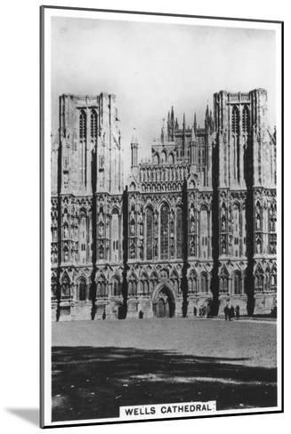 Wells Cathedral, Wells, Somerset, England, 1936--Mounted Giclee Print