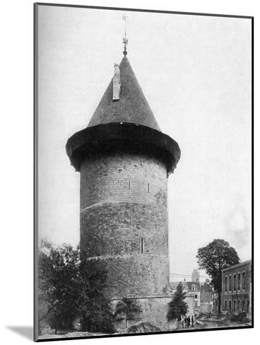 Joan of Arc's Tower, Rouen, France, C1920--Mounted Giclee Print
