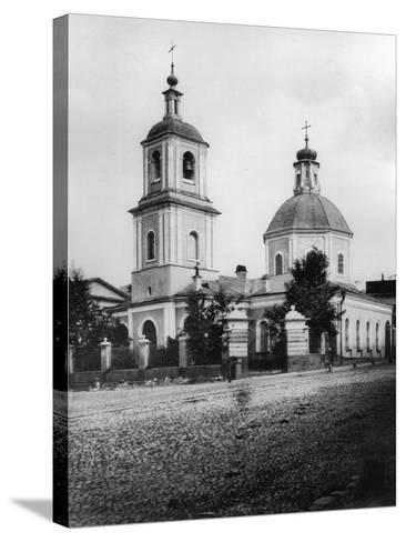 Church of the Entry of the Most Holy Theotokos into the Temple, Moscow, Russia, 1881- Scherer Nabholz & Co-Stretched Canvas Print