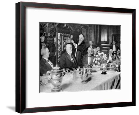 The Coronation of the Master of the Girdlers' Company, London, 1926-1927--Framed Art Print