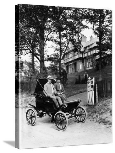 An Oldsmobile Curved Dash, 1902--Stretched Canvas Print