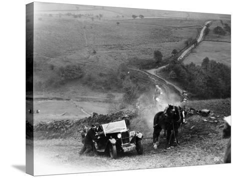 Riley 9, Yorkshire, Late 1920s--Stretched Canvas Print