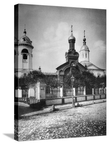 Church of St Nicholas the Miracle Maker, Near Sretensky Boulevard, Moscow, Russia, 1881- Scherer Nabholz & Co-Stretched Canvas Print