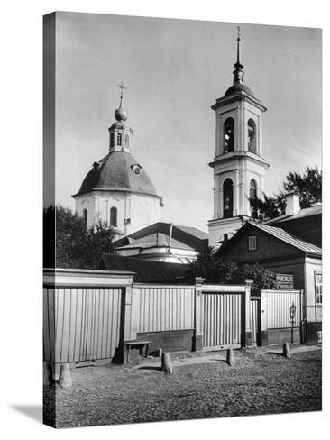 Church of St John the Forerunner, Krechetniki, Moscow, Russia, 1881- Scherer Nabholz & Co-Stretched Canvas Print