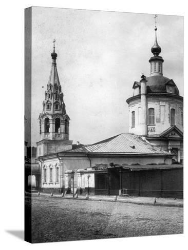 Church of the Resurrection of Christ, Taganka, Moscow, Russia, 1881- Scherer Nabholz & Co-Stretched Canvas Print