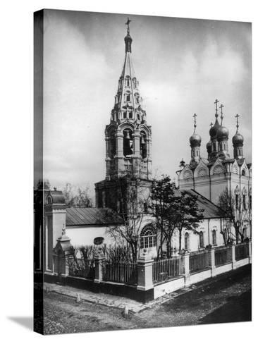 Church of the Transfiguration of Jesus, Peski, Moscow, Russia, 1881- Scherer Nabholz & Co-Stretched Canvas Print