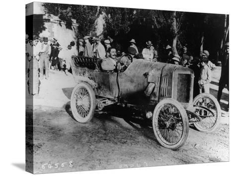 One of the Competitors at the Mont Ventoux Hill Climb, Provence, France, 1911--Stretched Canvas Print