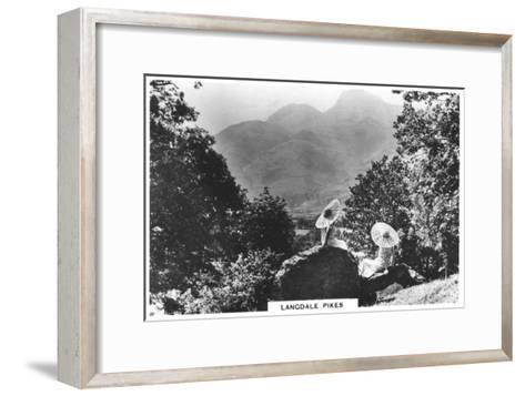 Langdale Pikes, Cumbria, 1936--Framed Art Print
