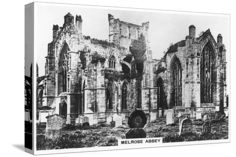 Melrose Abbey, Scotland, 1936--Stretched Canvas Print