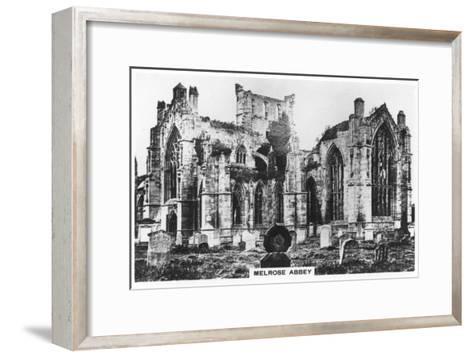 Melrose Abbey, Scotland, 1936--Framed Art Print