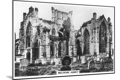 Melrose Abbey, Scotland, 1936--Mounted Giclee Print