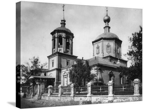 Church of the Life-Giving Trinity, Troitskaya, Moscow, Russia, 1882- Scherer Nabholz & Co-Stretched Canvas Print