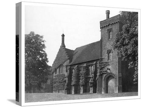 Old Hatfield House, Herfordshire, 1896- Valadon & Co Boussod-Stretched Canvas Print