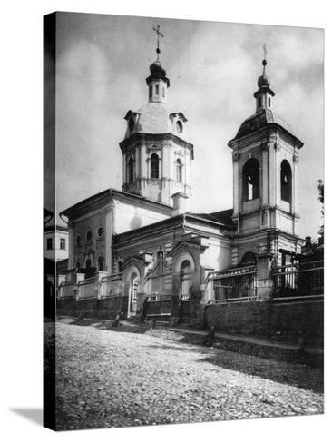 Church of St Nicholas the Miracle Maker, Rozhdestvenka Street, Moscow, Russia, 1881- Scherer Nabholz & Co-Stretched Canvas Print
