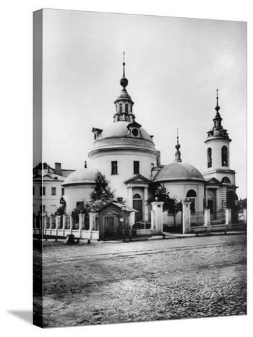 Church of the Holy Martyrs Cosmas and Damian, Pokrovka Street, Moscow, Russia, 1881- Scherer Nabholz & Co-Stretched Canvas Print